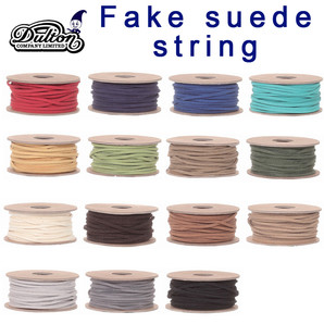 ■ダルトン■ FAKE SUEDE STRING